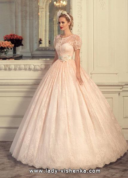 Rosa brudekjole 2016 - Tatiana Kaplun