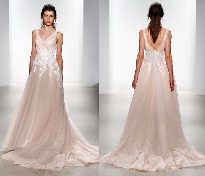 Rosa brudekjole 2016 - Kelly Faetanini