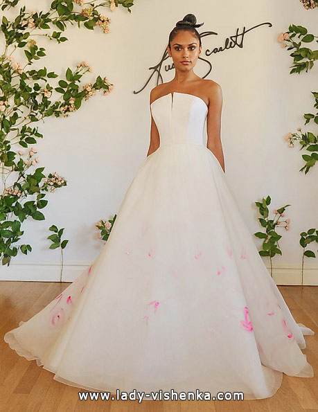 Rosa brudekjole 2016 - Austin Scarlett