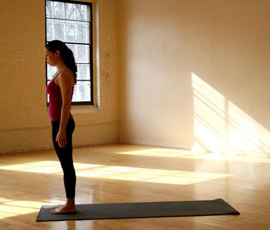 yoga Positur - Fjellet