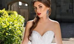 Prinsesse brudekjole 2016