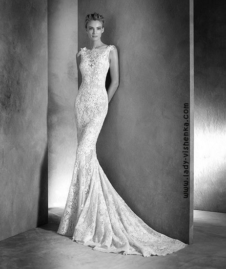 Lace wedding kjoler Pronovias