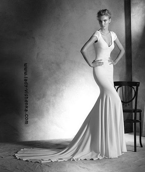 havfrue brudekjole Pronovias