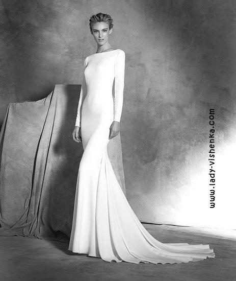 Wedding kjoler med ermer Pronovias