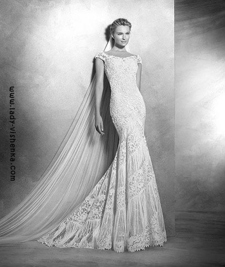 Wedding kjoler med blonder Pronovias