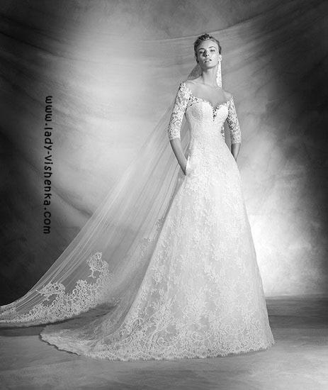 Wedding kjoler med ermer bilder Pronovias