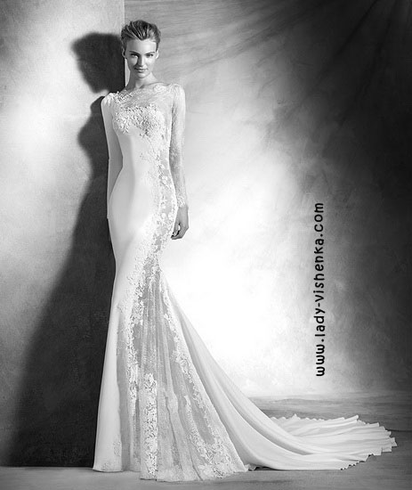 Lace wedding kjoler bilder Pronovias