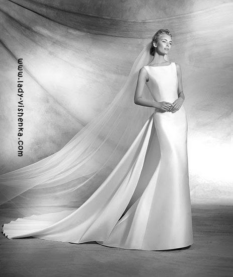 Wedding kjoler med tog, Pronovias bilde
