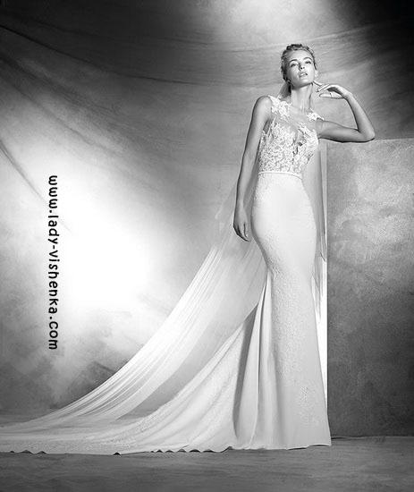 Wedding kjoler med blonder øverst Pronovias