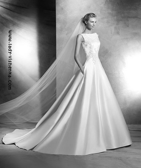 Prinsesse brudekjole Pronovias