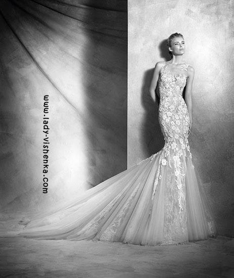Transparent brudekjole Pronovias