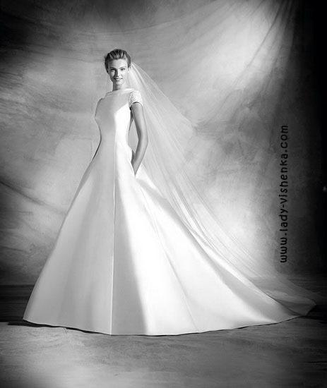 Mote bryllup kjoler Pronovias