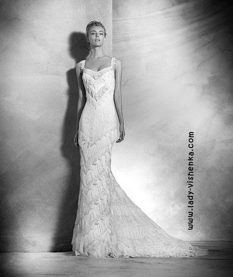 Utendørs bryllup kjoler Pronovias