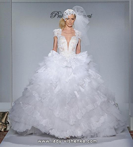Nydelig ball kjole brudekjoler 2016 - Pnina Tornai