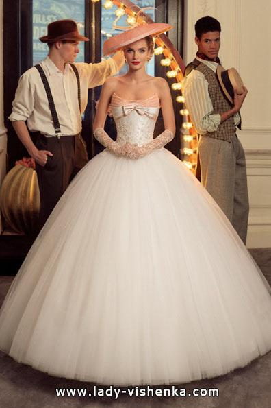 Nydelig ball kjole brudekjoler 2016 - Tatiana Kaplun