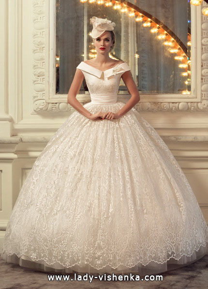 Brudekjoler med fluffy skjørt 2016 - Tatiana Kaplun