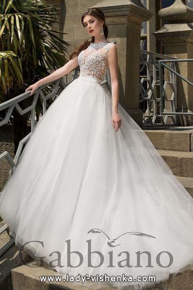 Nydelig ball kjole brudekjoler 2016 - Gabbiano