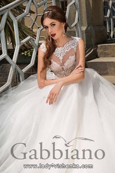 Lang brudekjole 2016 - Gabbiano