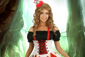 Hjerterdame — Halloween kostymer