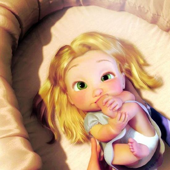 Rapunzel bilde