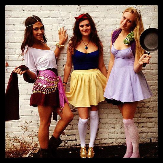 Bare en Rapunzel kostyme for Halloween