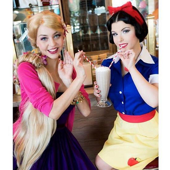 En enkel Rapunzel kostyme for Halloween