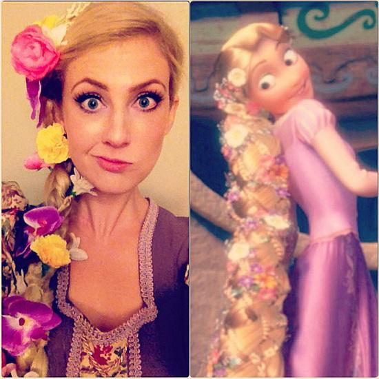 Prinsesse Rapunzel Halloween