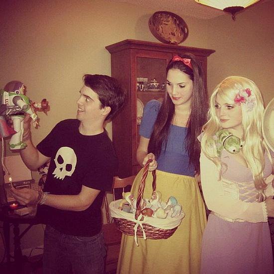 Lett Rapunzel kostyme for Halloween