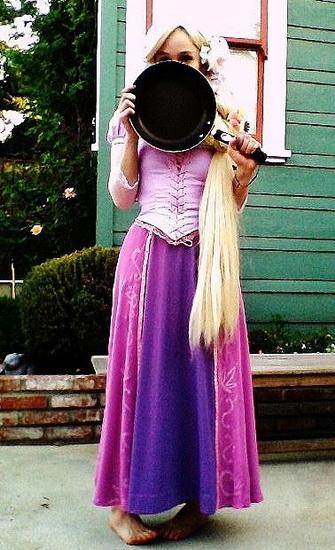 Kostyme Rapunzel