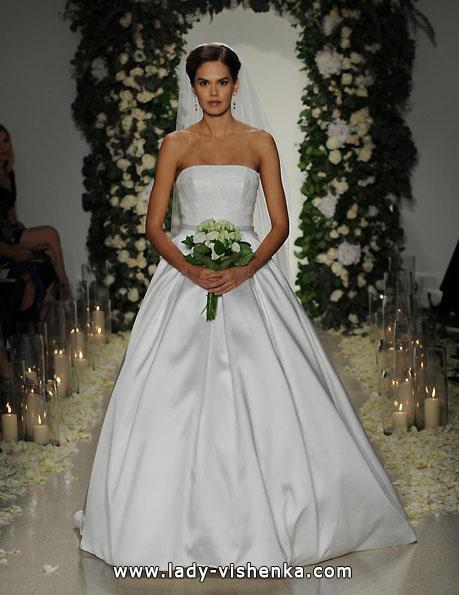brudekjole i sateng 2016 - Anne Lekter