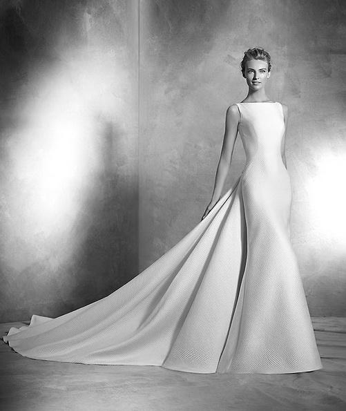 Sateng-brudekjole - Pronovias bilde 2016