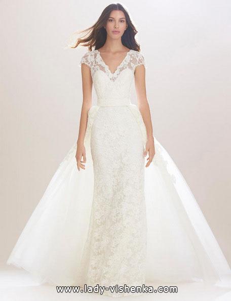 Kolonne brudekjole 2016 - Carolina Herrera