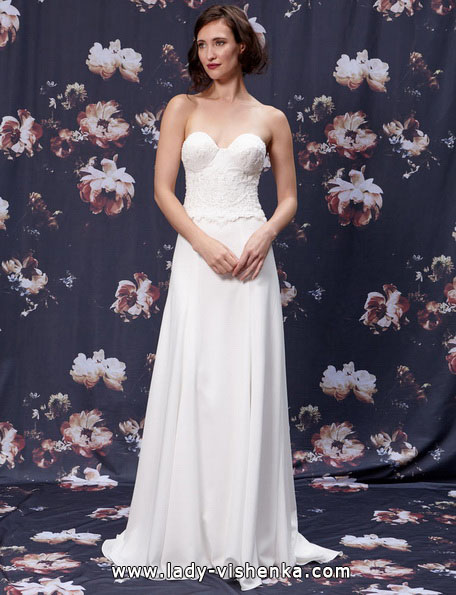 Brudekjole kolonne snitt 2016