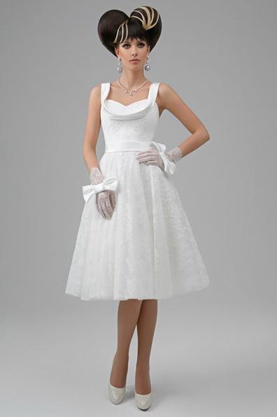 ball kjole brudekjoler kne lengde 2016 - Tatiana Kaplun
