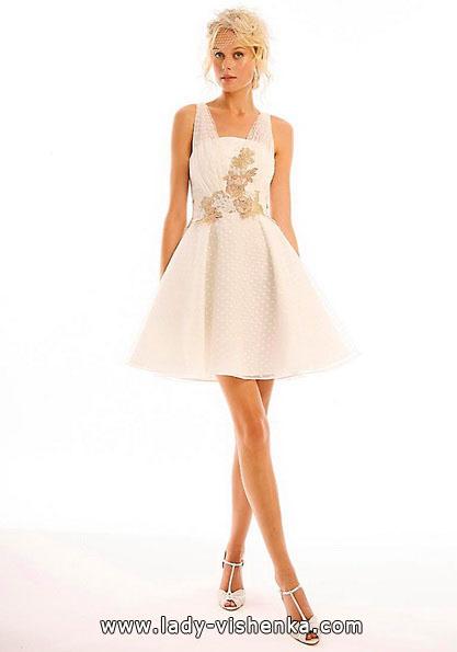 Korte brudekjoler 2016 - Eugenia Couture