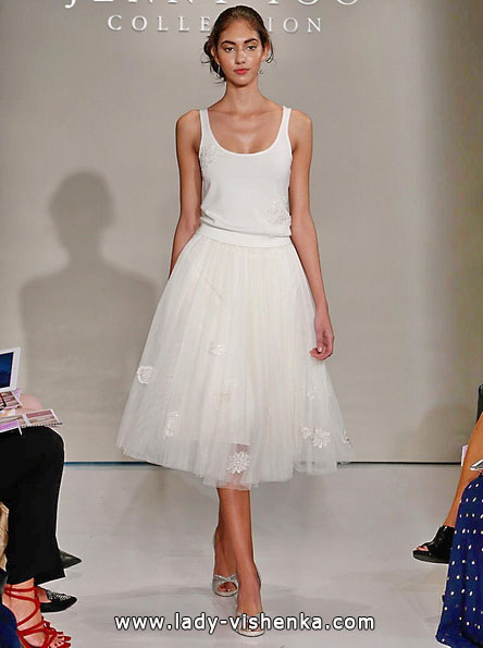 Korte brudekjoler 2016 - Jenny Yoo
