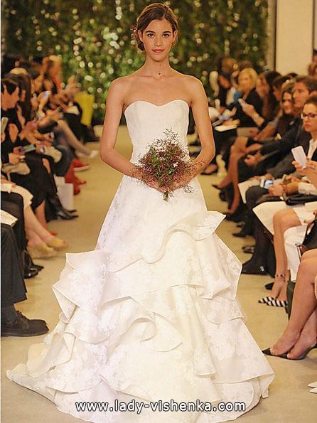 Enkle brudekjoler bilder - Carolina Herrera