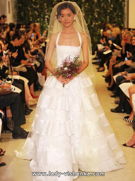 de Fleste enkle brudekjole - Carolina Herrera