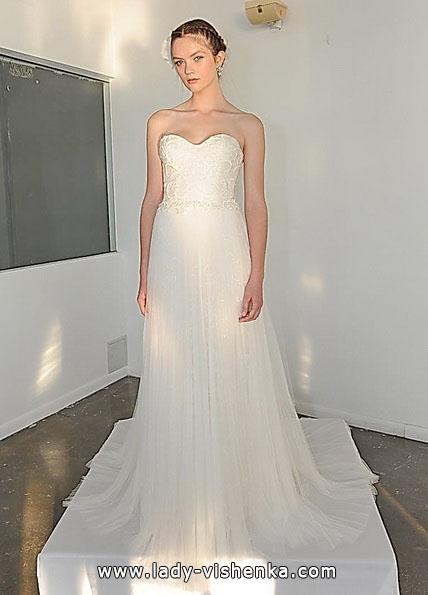 Enkle brudekjoler bilder - Marchesa