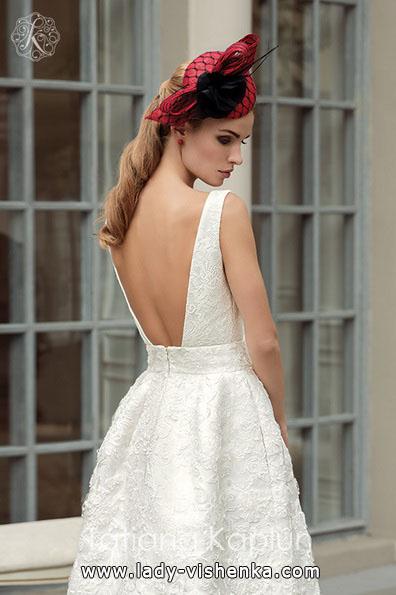 Simple white wedding kjoler Tatiana Kaplun