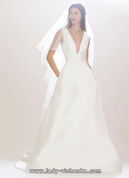 Enkel brudekjole 2016 - Carolina Herrera
