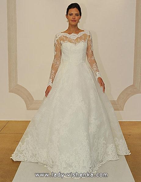 Wedding kjoler med blonder ermer - Judd Waddell