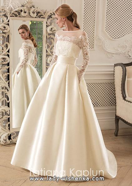 Wedding kjoler med blonder ermer - Tatiana Kaplun