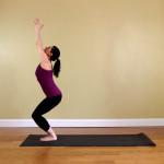 Yoga for nybegynnere — Holdning Stol