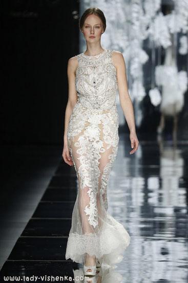 Stilig bryllup kjole YolanCris
