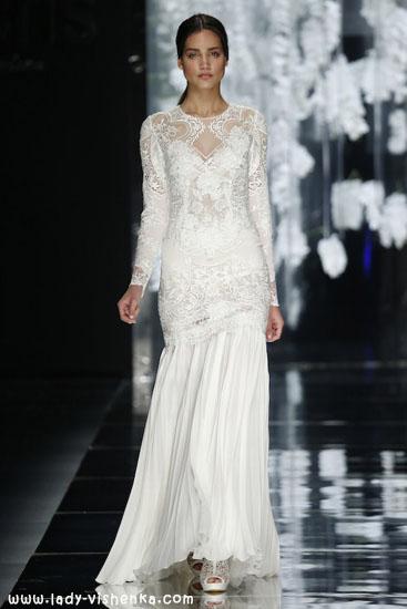 Wedding kjoler med ermer bilde YolanCris
