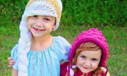 Kostymer for små jenter 4 år - 6 år