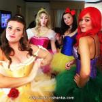 Disney-prinsesser Halloween-kostymer