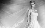 Forførende brudekjole Pronovias 2016 (Couture)